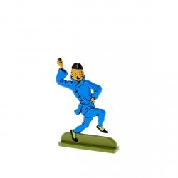 Figurine en métal de collection Tintin en train de danser 29200 (2010)