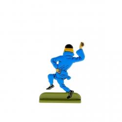 Collectible metal figure Tintin dancing 29200 (2010)