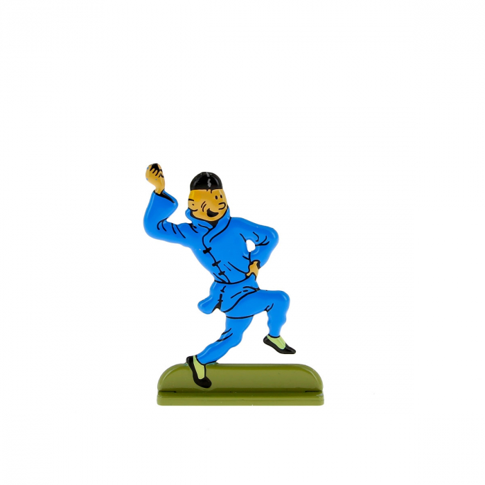 Collectible metal figure Tintin dancing 29200 (2010)