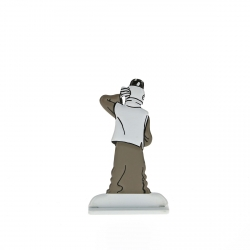 Collectible metal figure Tintin in China 29239 (2014)