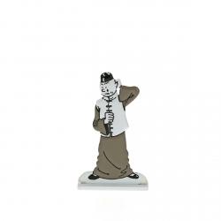 Figura metálica de colección Tintín en China 29239 (2014)