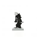 Figura metálica de colección Tintín en toga 29237 (2014)