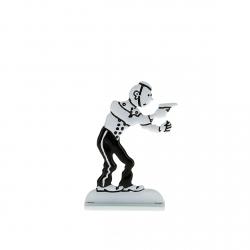 Figura metálica de colección Tintín de botones 29236 (2014)