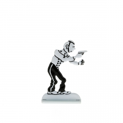 Figurine en métal de collection Tintin en groom 29236 (2014)