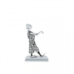 Figurine en métal de collection Tintin fait la pose 29234 (2013)