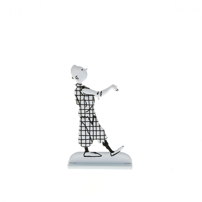 Collectible metal figure Tintin posing 29234 (2013)