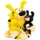 Figura hucha de colección Plastoy: Marsupilami y bebes 80046 (2015)