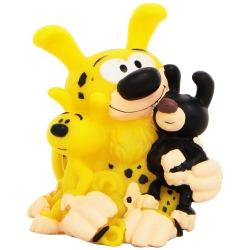 Figurine tirelire de collection Plastoy: Marsupilami et bébés 80046 (2015)