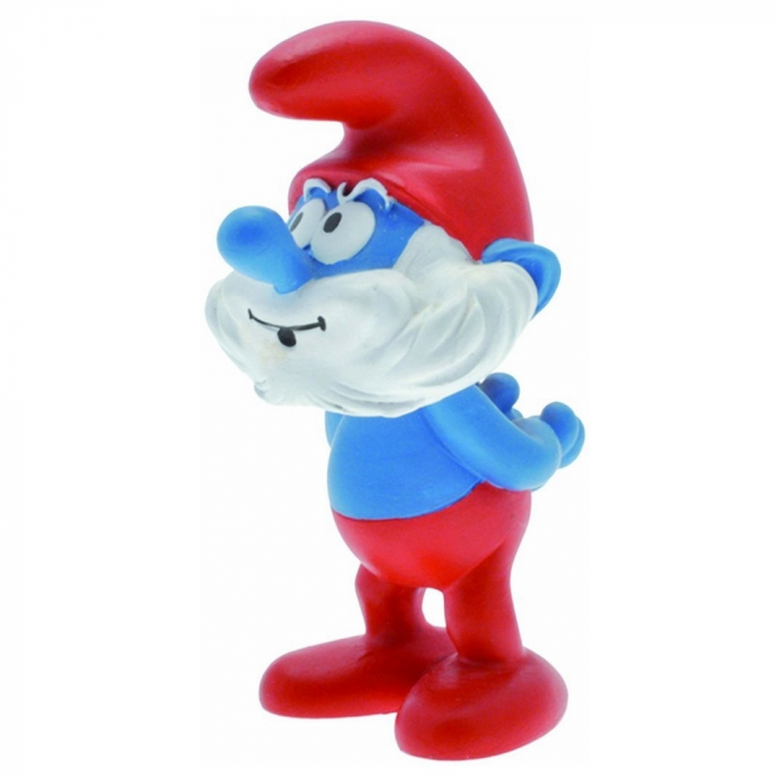 Collectible Figure Plastoy The Smurfs Papa Smurf 00151 (2015)