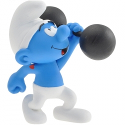 Collectible Figure Plastoy The Smurf with weights 00169 (2015)