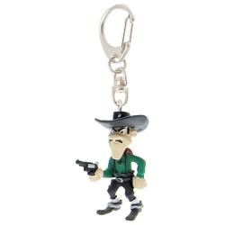 Llavero figura Plastoy Lucky Luke Joe Dalton disparando 62311 (2010)
