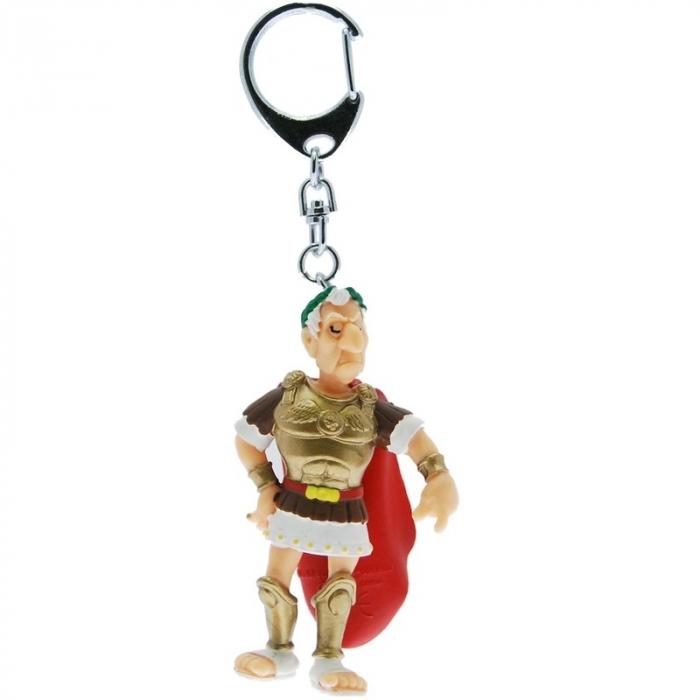 Porte-clés figurine Plastoy Astérix Jules César 60412 (2015)
