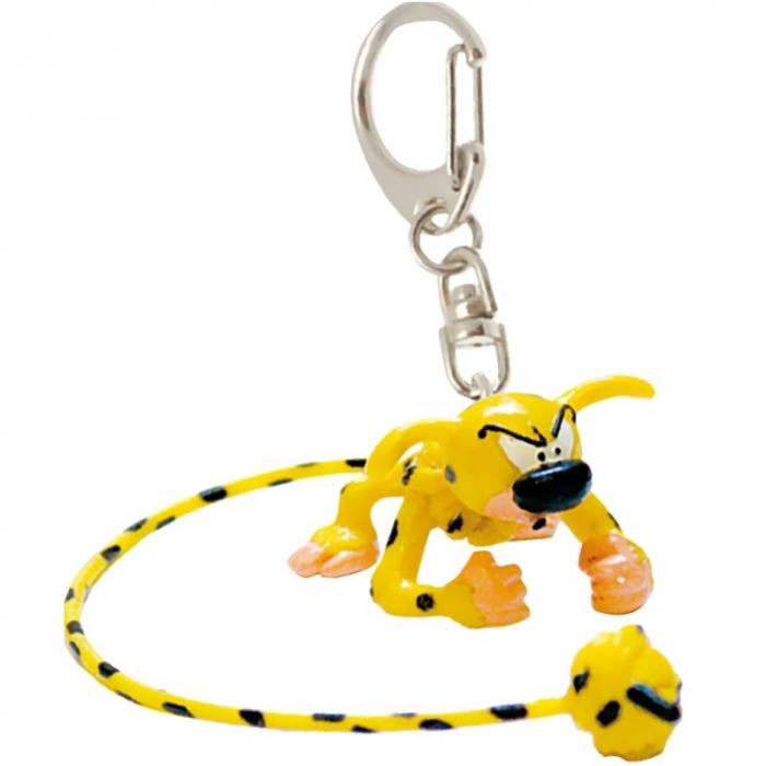 Porte-clés figurine Plastoy Le Marsupilami furieux 62331 (2015)