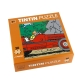 Tintin and Snowy puzzle in the Amilcar car with poster 30x30cm 81544 (2015)