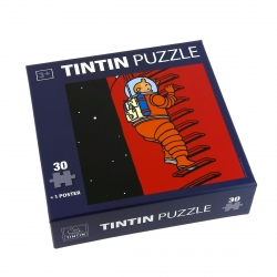 Tintin puzzle The Rocket Stairs with poster 30x30cm 81541 (2015)