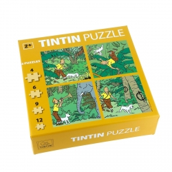 Puzzle Tintin dans la jungle Les Cigares du Pharaon 81540 (2015)