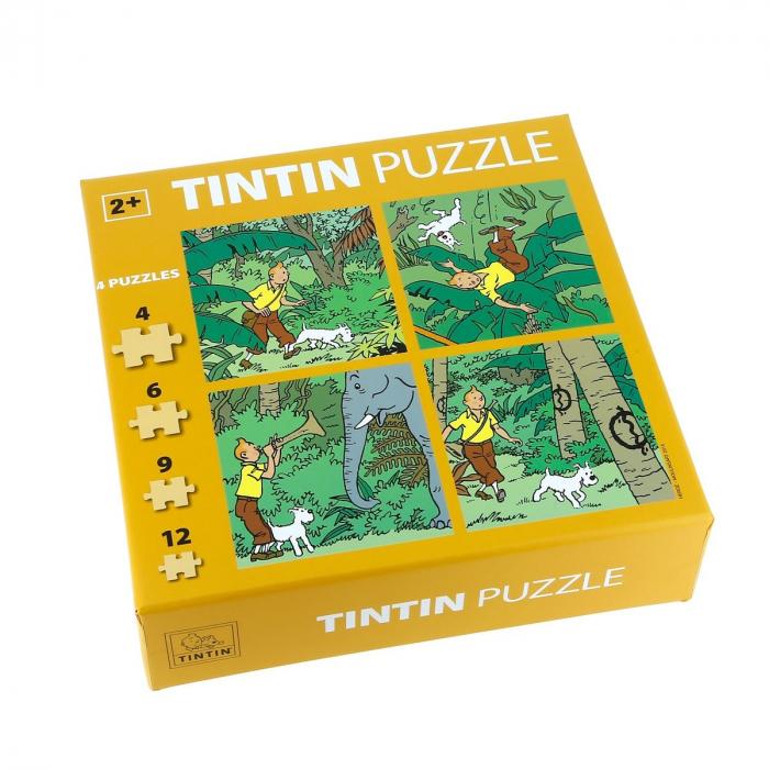 Puzzle de Tintín en la jungla Los cigarros del faraón 81540 (2015)