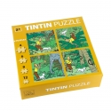 Tintin puzzle in the jungle from the Cigars of the Pharaoh 81540 (2015)