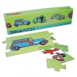 Tintin puzzle The Cars 200x15cm 81537 (2013)