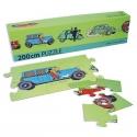 Tintin puzzle The Cars 200x15cm 81537 (2013)