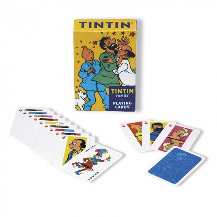 French Playing cards Tintin: Tintin Family (51033)