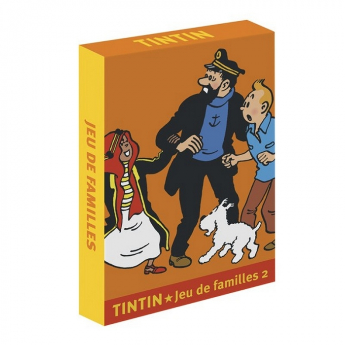 French Playing cards Tintin: Tintin Happy Families (51068)