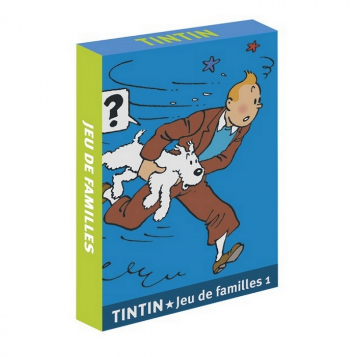 French Playing cards Tintin: Tintin Family Games 1 (51067)