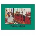 Poster Affiche Moulinsart de Tintin L'Oreille Cassée 20110 (80x60cm)