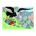 Poster Moulinsart Tintin The Condor in Prisoners of the Sun 20240 (70x50cm)