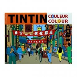 Libro para colorear Las aventuras de Tintín V1 24349 (2016)