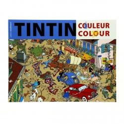 Libro para colorear Las aventuras de Tintín V2 24348 (2016)