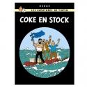 Póster Moulinsart álbum de Tintín: Stock de coque 22180 (50x70cm)