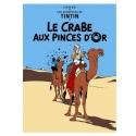Poster Moulinsart Album de Tintin: Le crabe aux pinces d'or 22080 (70x50cm)