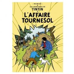 Póster Moulinsart albúm de Tintín: El asunto Tornasol 22170 (70x50cm)