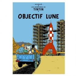 Poster Moulinsart Tintin Album: Destination Moon 22150 (70x50cm)