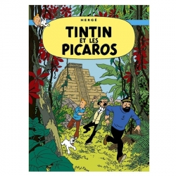 Poster Moulinsart Tintin Album: Tintin and the Picaros 22220 (50x70cm)