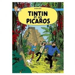 Poster Moulinsart Album de Tintin: Tintin et les Picaros 22220 (70x50cm)