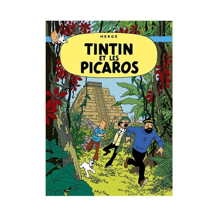 Poster Moulinsart Tintin Album: Tintin and the Picaros 22220 (70x50cm)