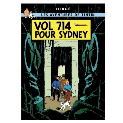 Poster Moulinsart Tintin Album: Flight 714 22210 (70x50cm)