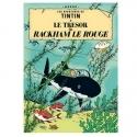 Poster Moulinsart Tintin Album: Red Rackham's Treasure 22110 (70x50cm)