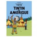 Postcard Tintin Album: Tintin in America 30071 (10x15cm)