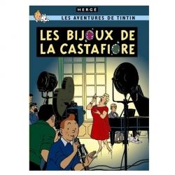 Carte postale album de Tintin: Les bijoux de la Castafiore 30089 (15x10cm)