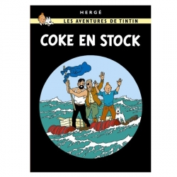 Postcard Tintin Album: The Red Sea Sharks 30087 (10x15cm)