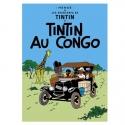 Postal del álbum de Tintín: Tintín en el Congo 30070 (10x15cm)