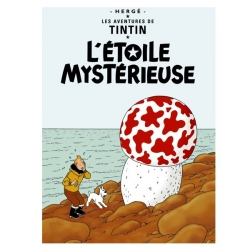 Postcard Tintin Album: The Shooting Star 30078 (10x15cm)