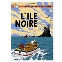 Postcard Tintin Album: The Black Island 30075 (10x15cm)