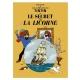Postcard Tintin Album: The Secret of the Unicorn 30079 (15x10cm)