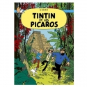 Postcard Tintin Album: Tintin and the Picaros 30091 (15x10cm)