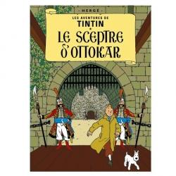 Carte postale album de Tintin: Le sceptre d'Ottokar 30076 (15x10cm)