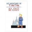 Postal del álbum de Tintín en el país de los Soviets 30092 (10x15cm)